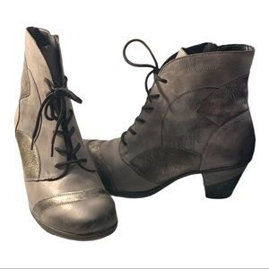 Remonte Multi-tone Gray Ankle Boots EUR 42 US 9